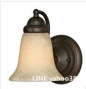 歐式壁燈 地中海仿古 鐵藝鏡前床頭燈具