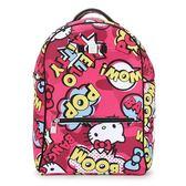 SAVE MY BAG Zaino系列限量Hello Kitty輕量防水後背包(桃紅色)280006-2