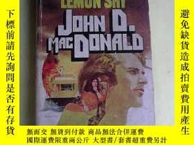 二手書博民逛書店The罕見Dreadful Lemon Sky 英文原版Y83259 John D. MacDonald A