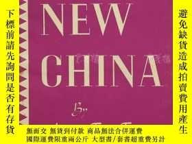 二手書博民逛書店英文書籍《THE罕見FIGHT FOR A NEW CHINA》一本 HXTX171448Y165050 MA
