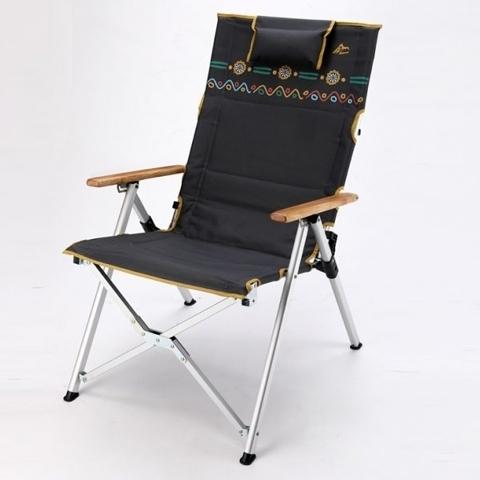 【原廠公司貨】丹大戶外【Go Sport】三段式室內/戶外兩用休閒椅 快樂椅 可調椅背 91802-GY 冷鐵灰