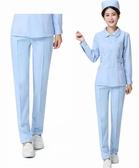 護士褲白色夏款緊腰大碼生西褲腰褲子生服護士服夏裝工作褲 艾瑞斯居家生活