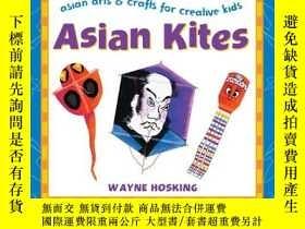 二手書博民逛書店Asian罕見Kites (Asian Arts and Crafts For Creative Kids)-亞洲