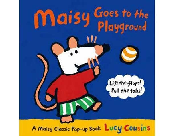 Maisy Goes To The Playground 波波到公園玩耍趣味拉拉書