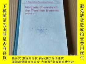 二手書博民逛書店Inorganic罕見Chemistry of the Transition Elements: Volume 2