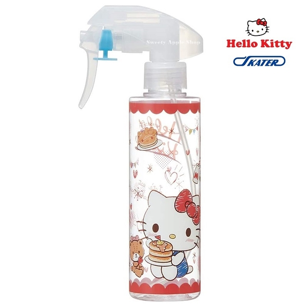 【SAS】 日本限定 SKATER 三麗鷗 HELLO KITTY 凱蒂貓 鬆餅版 酒精噴瓶 / 分裝瓶 / 噴霧瓶