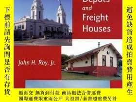 二手書博民逛書店A罕見Field Guide to Southern New England Railroad Depots an