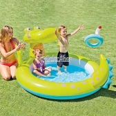 INTEX嬰兒童充氣游泳池家庭大號海洋球池沙池家用寶寶噴水戲水池 萬聖節全館免運 YYP