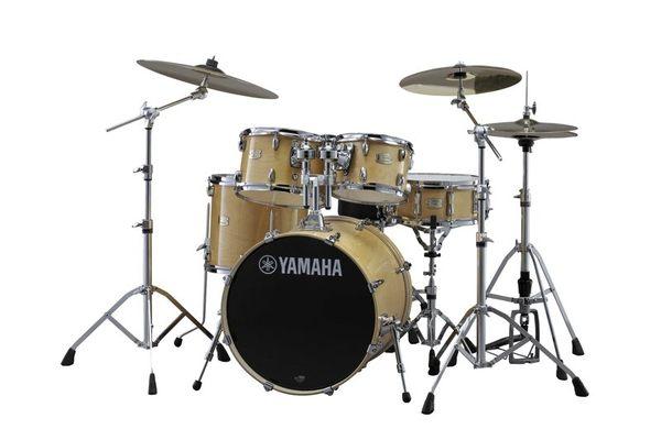 【金聲樂器廣場】全新 Yamaha Stage Custom Birch Drum Set 原木色 懸吊式 爵士鼓