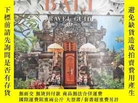 二手書博民逛書店Bali罕見Travel Guide 巴厘島旅遊指南Y19139