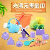 兒童沙灘玩具車套裝寶寶玩雪打雪仗玩堆雪人玩沙子沙漏決明子玩具 交換禮物