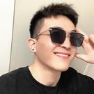 新款方形墨鏡男潮流男士開車專用防紫外線太陽眼鏡女網紅眼睛
