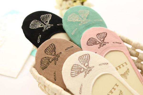 襪子   吊墜淺口船襪 隱形短襪   【FSW015】-收納女王