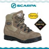 【SCARPA 義大利 GORE-TEX登山鞋《深棕》】60023B/防水透氣/高筒/黃金底/建行鞋