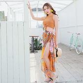 泳衣(三件套)-韓版時尚波希米亞風女比基尼73rz27[時尚巴黎]