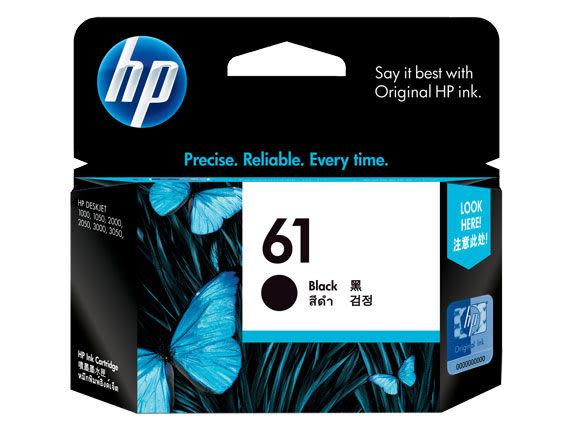 [奇奇文具]【HP 墨水匣】HP CH561WA/NO.61原廠黑色墨水匣