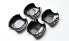 【車王汽車精品百貨】Mazda 馬自達5 Mazda5 馬5 碳纖維紋 門碗 保護蓋