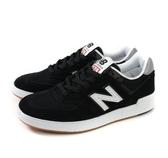 New Balance 男款運動休閒鞋 黑 白LOGO -NO.AM574BKG