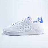 ADIDAS ADVANTAGE 男款 休閒鞋 公司貨 FX3456 白X藍【iSport愛運動】