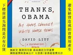 二手書博民逛書店Thanks,罕見ObamaY256260 David Litt Ecco 出版2017