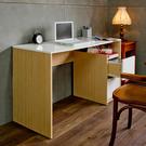 書桌 電腦桌 書房【收納屋】特洛日式經典二抽書桌-絕美白&DIY組合傢俱