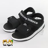 【韓國限定】New Balance 韓版涼鞋 黑色 兒童涼鞋 中童鞋 NO.Y1494