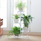 索爾諾鐵藝花架 落地式花盆架多層室內外歐式客廳陽台綠蘿花架子