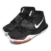 Nike 籃球鞋 Kyrie 6 PS Jet Black 黑 白 中童鞋 小朋友 運動鞋 【PUMP306】 BQ5600-001