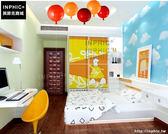 INPHIC- 彩色氣球燈吸頂燈現代簡約創意臥室床頭幼稚園卡通兒童房間吸頂燈-D款_S197C