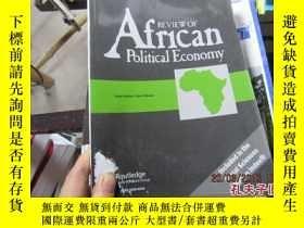 二手書博民逛書店REVIEW罕見OF AFRICAN POLITICAL ECO
