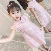 女童夏裝新款洋裝潮童裝女孩旗袍裙兒童寶寶時髦洋氣公主裙  遇見生活