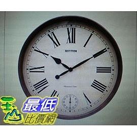 [COSCO代購]   麗聲鐘實木打點掛鐘 _W113963
