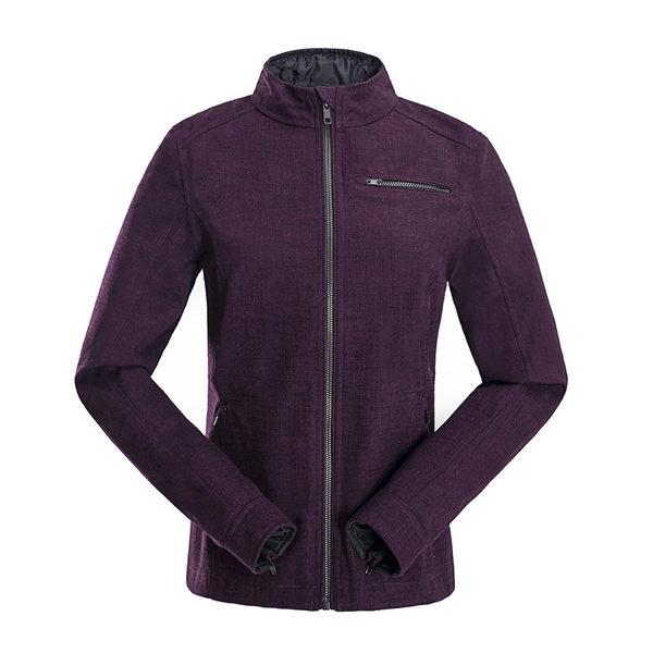 【聖伯納St. Bonalt】女-短版英倫風時尚防水機能風衣(0176)-深酒紅 防寒外套 保暖 登山 戶外 防風