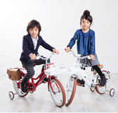 BabyPark l 日本iimo兒童腳踏車16吋 兩色可選 安全無毒材質