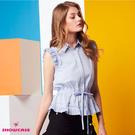 縮腰綁繩設計 顯瘦有型 OL必備 專業優雅風格 時尚女孩必備單品