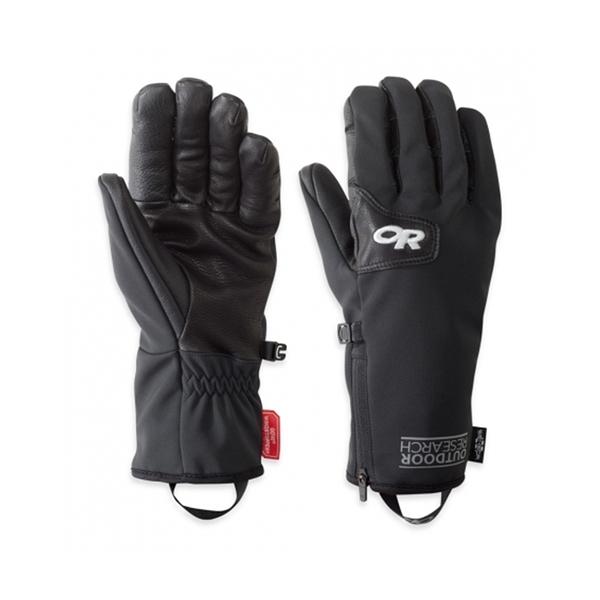 OR Stormtracker Sensor Gloves Windstopper 可觸控防風防潑水保暖手套 黑