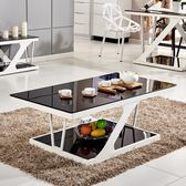 茶几 茶几簡約現代鋼化玻璃茶几 客廳家用小戶型創意多功能電視櫃桌子【韓國時尚週】