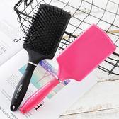 按摩梳子 美髮氣囊梳頭皮按摩梳子保健梳防靜電氣墊梳捲髮梳化妝造型木梳大板梳 歐萊爾藝術館