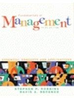 二手書博民逛書店《Fundamentals of Management:Essential Concepts And Applications》 R2Y ISBN:013017601X