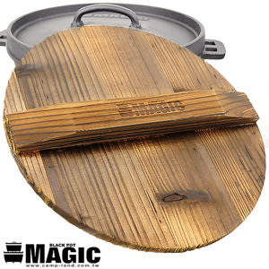 【MAGIC】RV-IRON025 松木保溫鍋蓋12吋松木鍋蓋保溫鍋蓋.適用鑄鐵鍋荷蘭鍋.露營用品