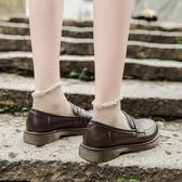 2020新款英倫小皮鞋女夏百搭學生日系學院風基礎jk制服鞋樂福鞋潮 雙11提前購