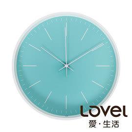 時鐘 Lovel 30cm Anderson's Palette靜音機芯掛鐘-藍綠(T721–TN)里和 Riho