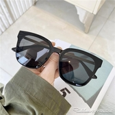 墨鏡墨鏡韓國個性潮流網紅明星街拍防紫外線旅遊眼鏡情侶太陽鏡男女 阿卡娜