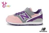 New Balance 996 女童運動鞋 中大童 復古慢跑鞋 O8417#粉紫◆OSOME奧森鞋業