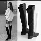長靴 馬靴女長筒靴粗腿過膝長靴女靴子冬新款騎士靴粗跟高跟長靴顯瘦 風尚