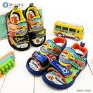 童鞋城堡-可愛漢堡車造型涼鞋 Tomica多美汽車 TM3600 藍/黑 (共二色)