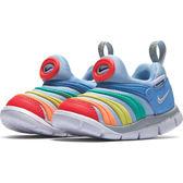 Nike Dynamo Free TD 童鞋 小童 休閒 毛毛蟲 彩虹 彩色 【運動世界】 343938-425