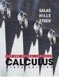 二手書博民逛書店 《Calculus: One and Several Variables》 R2Y ISBN:0471231207│Salas