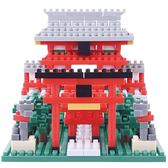 《 Nano Block 迷你積木 》NBC-108 稻荷神社 ╭★ JOYBUS玩具百貨