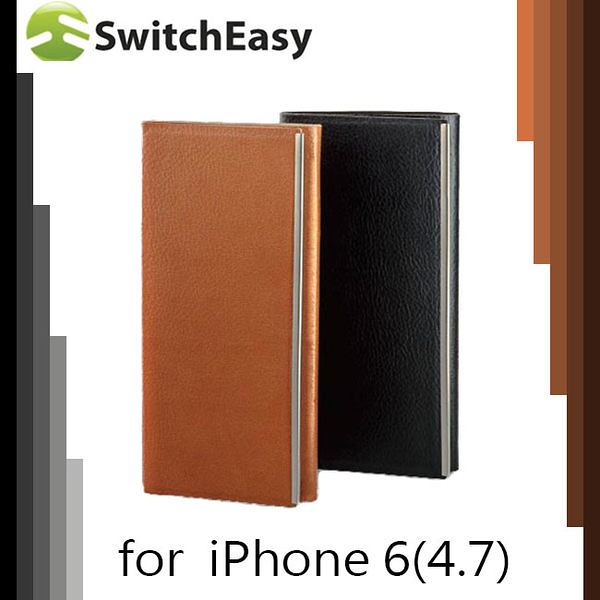 【東西商店】SwitchEasy WRAP iPhone 6 /  6s 超薄可立式側翻皮套